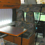 interieur Liberty camper